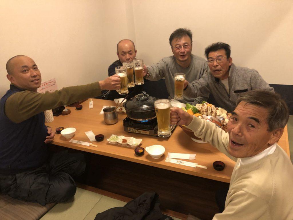 松田工務店 忘年会 土岐市