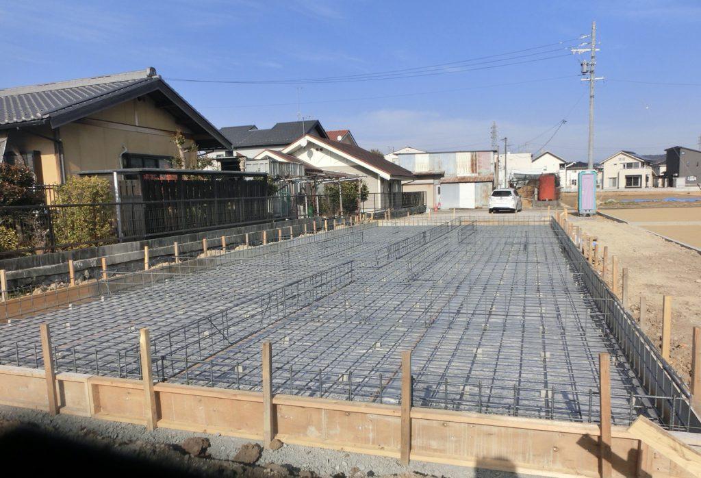 可児 新築 基礎工事 地盤改良